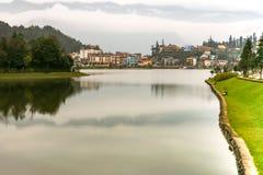 在Sapa村庄的看法,在越南北部 免版税图库摄影