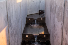 在Seahurst公园1的三文鱼梯子 免版税库存照片