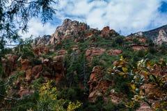 在Sedona亚利桑那美国自然奇迹的奇迹  免版税库存照片