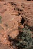在Sedona的岩层 免版税库存照片
