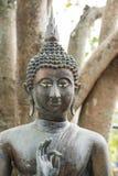 在Seema Malaka寺庙的菩萨雕象在科伦坡,斯里兰卡 免版税图库摄影