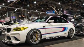 在SEMA的BMW 库存照片