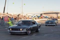 1969年在SEMA的Ford Mustang 库存图片