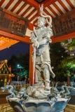 在Sensoji寺庙的洗净喷泉在东京 免版税库存图片