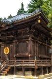 在Shinshoji寺庙,成田,日本的寺庙细节 库存图片