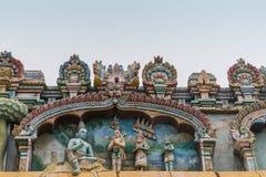 在Shirangam寺庙的Rama阁下壁画 免版税库存照片