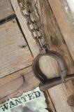 在Shoal Creek生存历史博物馆拘留袖口 图库摄影