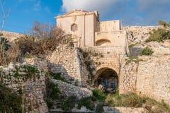 在Siggiewi,马耳他极限的Fawwara  库存照片