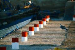 在Skala du Port的细节在索维拉 库存照片