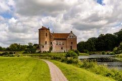 在skane瑞典的Torup城堡 库存图片