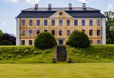在skane eastcoast的Cristinehof城堡  免版税库存照片