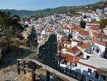 在Skopelos的希腊外型 免版税库存照片