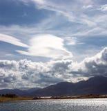 在Skye的天空 免版税库存照片