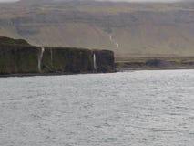 在Snæfellsnes的峭壁 免版税库存图片