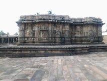 在Somanathapura的历史在迈索尔市附近 图库摄影