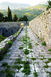 在Spanjola上堡垒墙壁  免版税库存图片