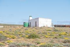 在Spoegrivier附近的农厂房子 免版税库存照片