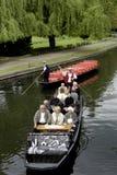 在Spreewald的小船旅行 免版税图库摄影