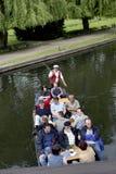 在Spreewald的小船旅行 免版税库存图片