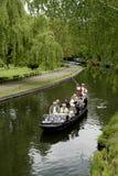 在Spreewald的小船旅行 库存图片