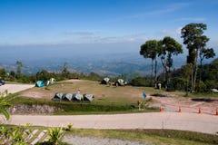 在SriNan国家公园的宿营地 库存图片