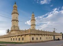 在Sriranagapatna海岛,迈索尔,印度上的Jamia Masjid清真寺 免版税库存照片