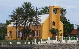在Statia (圣Eustatius)的历史的罗马天主教堂彼得J Restivo 图库摄影