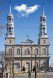 在StEustache的罗马天主教堂 库存图片