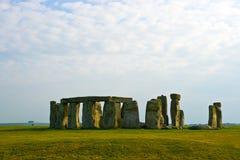 在stonehenge的云彩 免版税库存图片
