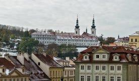 在Strahov修道院,布拉格的种类 库存照片