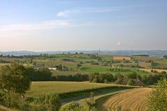 在Strengberg附近的奥地利乡下 免版税库存图片