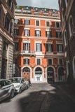 在studytrip期间,罗马偶象大厦射击了 免版税库存图片