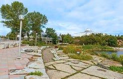 在Sudbury,安大略加拿大的科学中心北部 库存图片