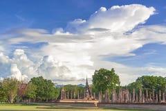 在Sukhothai省的寺庙 图库摄影
