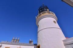 在Sumburgh头的老灯塔 库存照片