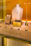 在Suria KLCC购物中心,吉隆坡的Bvlgari首饰 库存照片