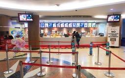 在Suria KLCC购物中心,吉隆坡的TGV戏院 库存图片