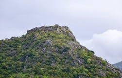 在Sutomore,黑山上的Haj-Nehaj堡垒 库存照片