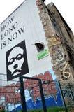 在tacheles之外的柏林kunstahaus 免版税图库摄影
