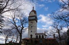在Talcott山的Heublien塔 免版税图库摄影
