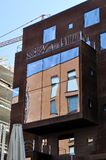 在Tallin的现代大厦 库存照片