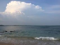 在tangalle斯里兰卡的Parei walla 库存照片