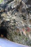 在Taroko峡谷国家公园里面的燕子洞穴花莲的台湾 库存图片