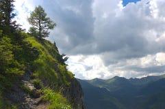 在Tatra山的夏天风景, Nosal 免版税库存照片
