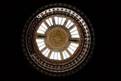 在Teylers博物馆的天窗 库存图片