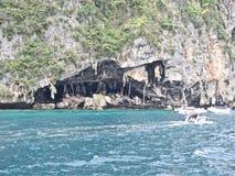 在Thailand_01-24-2017的Ko披披岛 免版税库存图片