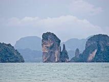 在Thailand_01-24-2017的Ko披披岛 库存图片