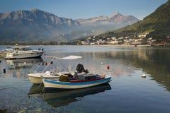 在Thassos海岛上的平安的早晨 图库摄影