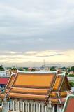 在Thialand的Wat Pho寺庙 免版税库存照片