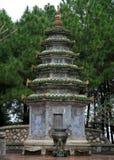 在Thien Mu塔复合体的一个寺庙 库存图片